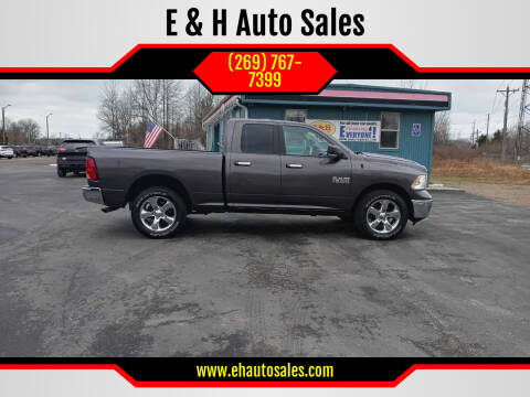 2018 RAM Ram Pickup 1500 for sale at E & H Auto Sales in South Haven MI