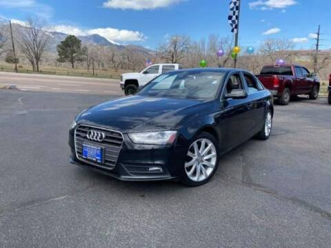 2013 Audi A4 for sale at Lakeside Auto Brokers Inc. in Colorado Springs CO