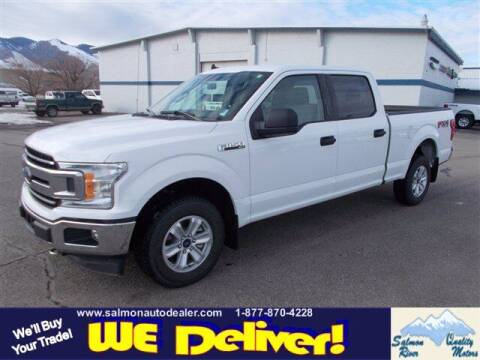 2019 Ford F-150 for sale at QUALITY MOTORS in Salmon ID