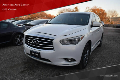 2014 Infiniti QX60 for sale at American Auto Center in Austin TX
