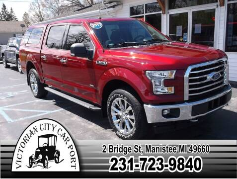 2017 Ford F-150 for sale at Victorian City Car Port INC in Manistee MI