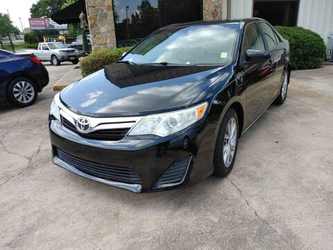 2012 Toyota Camry for sale at TR Motors in Opelika AL