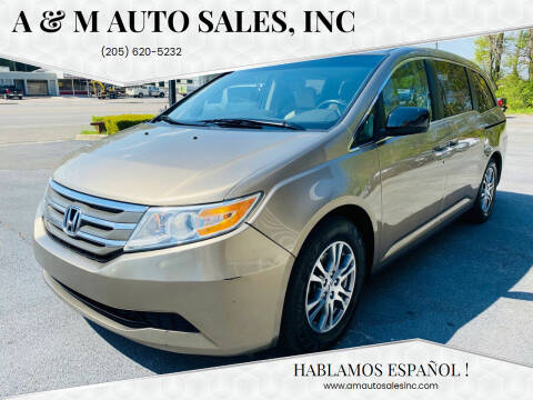 2011 Honda Odyssey for sale at A & M Auto Sales, Inc in Alabaster AL