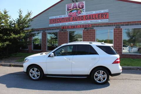 2015 Mercedes-Benz M-Class for sale at EXECUTIVE AUTO GALLERY INC in Walnutport PA