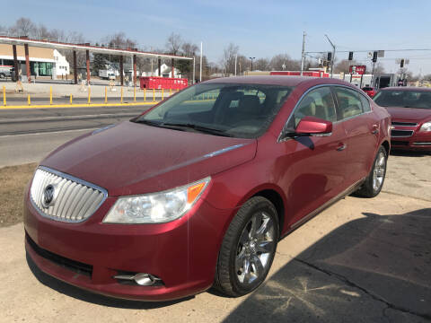 2011 Buick LaCrosse for sale at Pep Auto Sales in Goshen IN