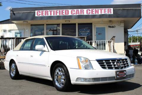 2006 Cadillac DTS for sale at CERTIFIED CAR CENTER in Fairfax VA