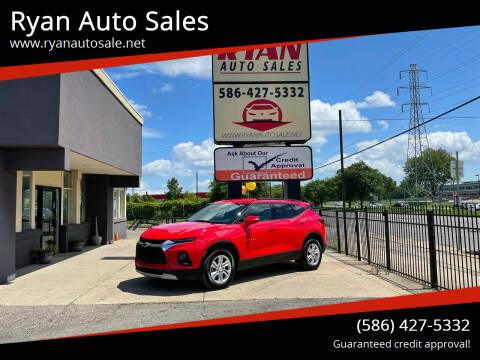 2020 Chevrolet Blazer for sale at Ryan Auto Sales in Warren MI