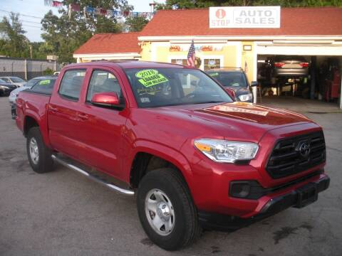 2018 Toyota Tacoma for sale at One Stop Auto Sales in North Attleboro MA
