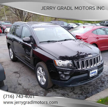 2016 Jeep Compass for sale at JERRY GRADL MOTORS INC in North Tonawanda NY