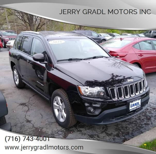 2016 Jeep Compass for sale at JERRY GRADL MOTORS INC in North Tonawanda NY