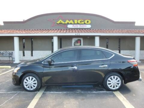 2015 Nissan Sentra for sale at AMIGO AUTO SALES in Kingsville TX