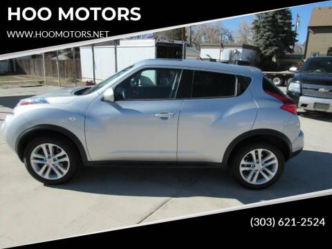2014 Nissan JUKE for sale at HOO MOTORS in Kiowa CO