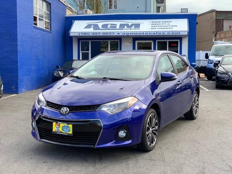 2014 Toyota Corolla for sale at AGM AUTO SALES in Malden MA