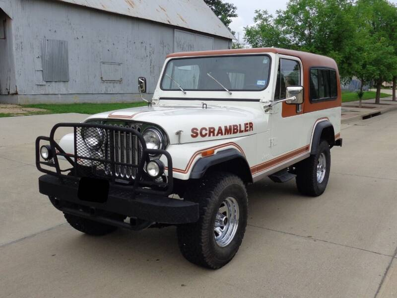 1981 Jeep Scrambler for sale at Enthusiast Motorcars of Texas in Rowlett TX