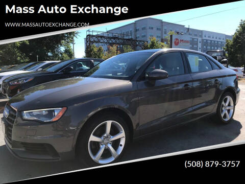 2015 Audi A3 for sale at Mass Auto Exchange in Framingham MA