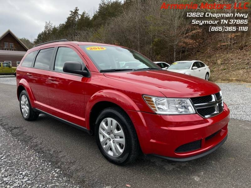 2018 Dodge Journey for sale at Armenia Motors in Seymour TN