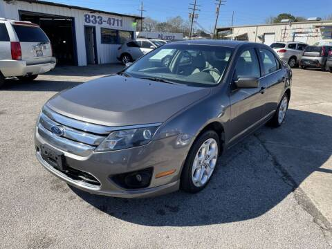 2011 Ford Fusion for sale at AMERICAN AUTO COMPANY in Beaumont TX