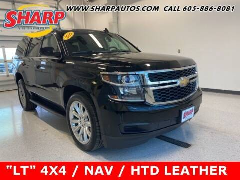 2016 Chevrolet Tahoe for sale at Sharp Automotive in Watertown SD