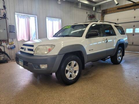 2003 Toyota 4Runner for sale at Sand's Auto Sales in Cambridge MN