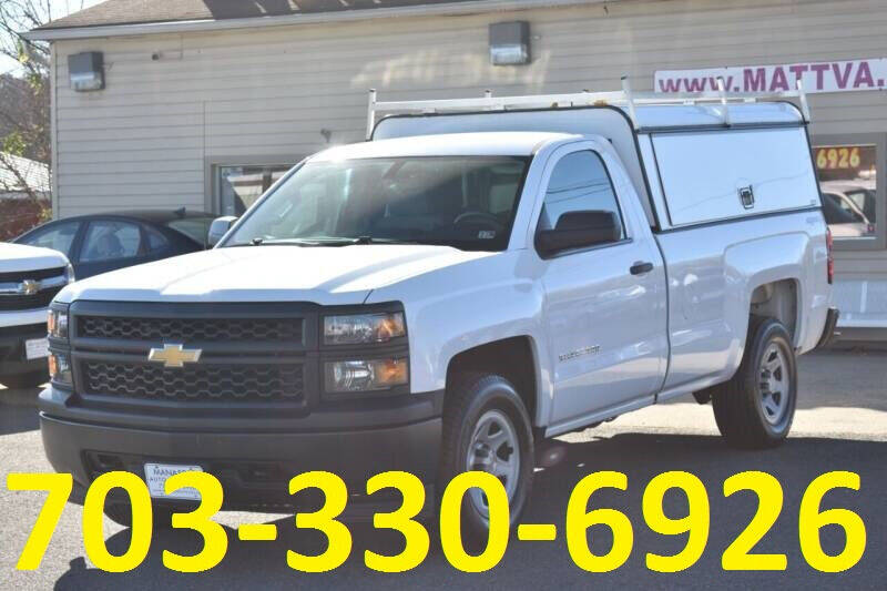 2015 Chevrolet Silverado 1500 for sale at MANASSAS AUTO TRUCK in Manassas VA