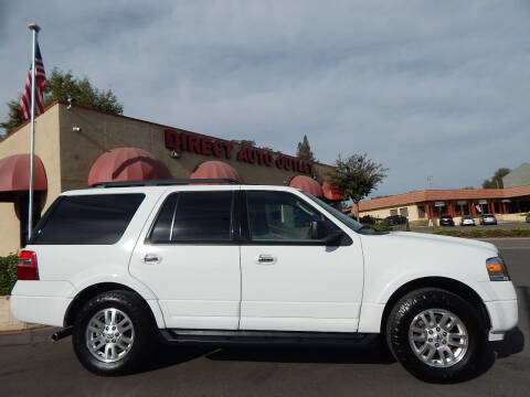 2012 Ford Expedition for sale at Direct Auto Outlet LLC in Fair Oaks CA