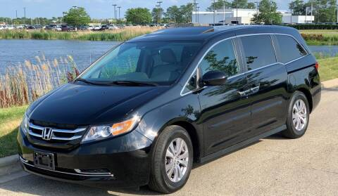 2014 Honda Odyssey for sale at Midwest Auto in Naperville IL