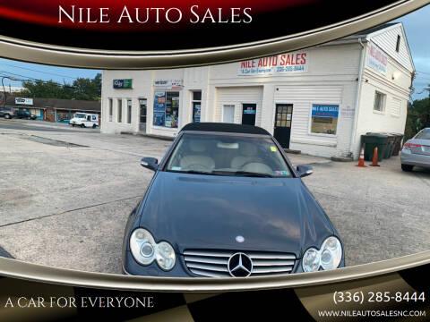 2005 Mercedes-Benz CLK for sale at Nile Auto Sales in Greensboro NC