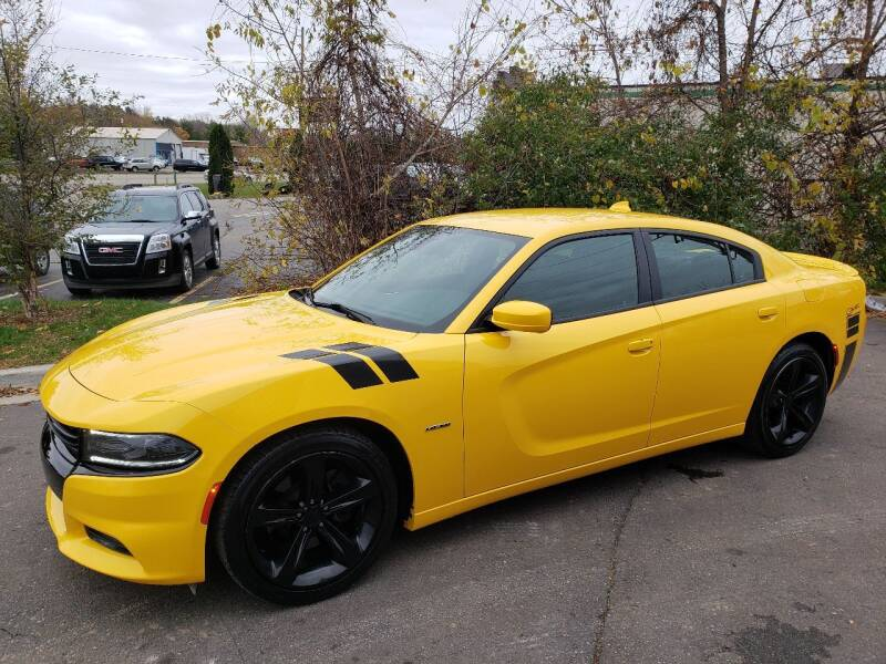 2018 Dodge Charger for sale at Finish Line Auto Sales Inc. in Lapeer MI