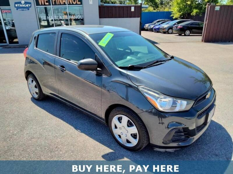 2017 Chevrolet Spark for sale at Stanley Direct Auto in Mesquite TX