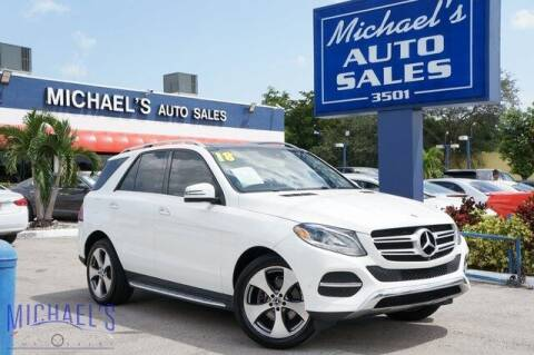 2018 Mercedes-Benz GLE for sale at Michael's Auto Sales Corp in Hollywood FL