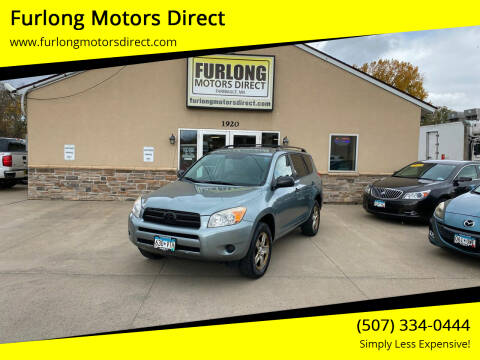 2008 Toyota RAV4 for sale at Furlong Motors Direct in Faribault MN