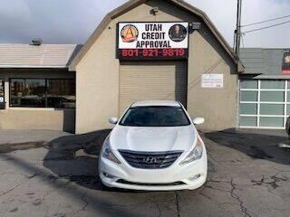 2012 Hyundai Sonata for sale at Utah Credit Approval Auto Sales in Murray UT