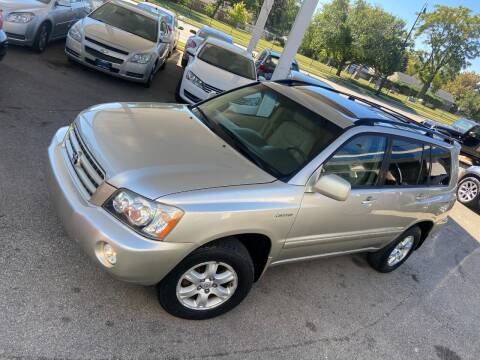 2003 Toyota Highlander for sale at Car Stone LLC in Berkeley IL