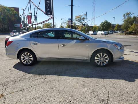 2014 Buick LaCrosse for sale at ECONOMY AUTO MART in Chicago IL