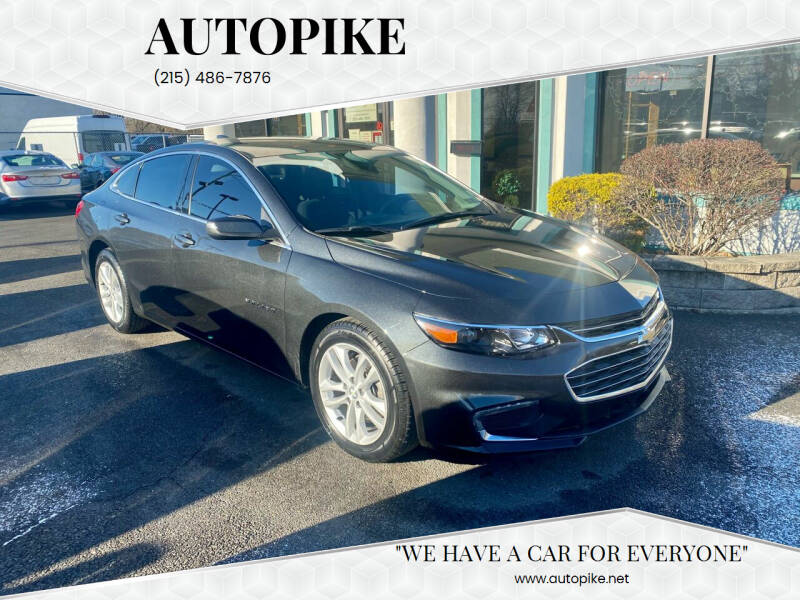 2017 Chevrolet Malibu for sale at Autopike in Levittown PA