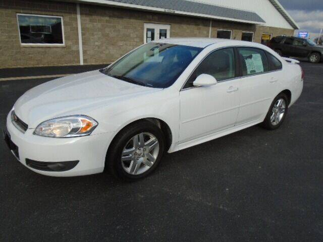 2011 Chevrolet Impala for sale at SWENSON MOTORS in Gaylord MN