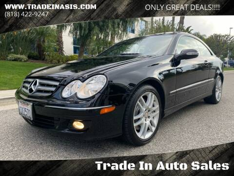 2009 Mercedes-Benz CLK for sale at Trade In Auto Sales in Van Nuys CA