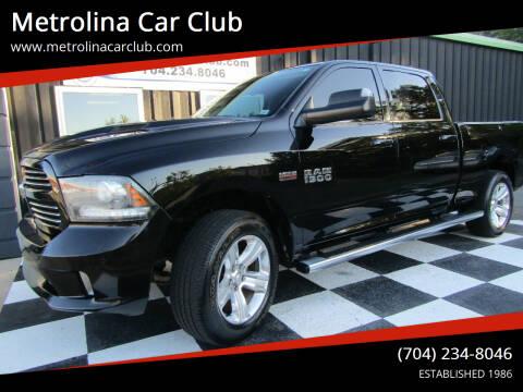 2014 RAM Ram Pickup 1500 for sale at Metrolina Car Club in Matthews NC