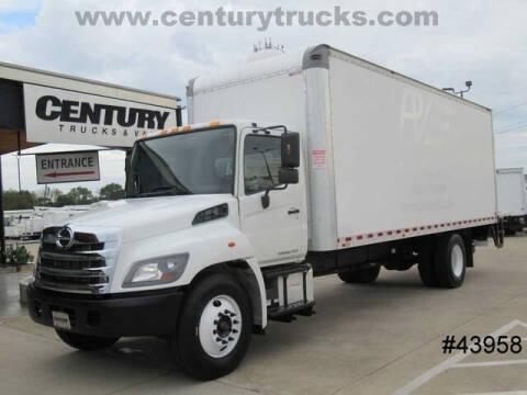 2016 Hino 268 for sale at CENTURY TRUCKS & VANS in Grand Prairie TX