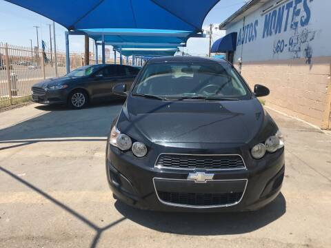 2014 Chevrolet Sonic for sale at Autos Montes in Socorro TX