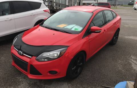 2013 Ford Focus for sale at RACEN AUTO SALES LLC in Buckhannon WV
