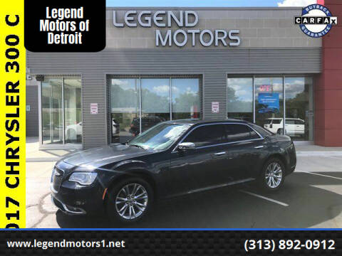 2017 Chrysler 300 for sale at Legend Motors of Waterford - Legend Motors of Detroit in Detroit MI