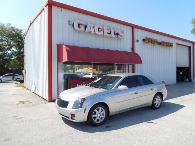 2007 Cadillac CTS for sale at Gagel's Auto Sales in Gibsonton FL