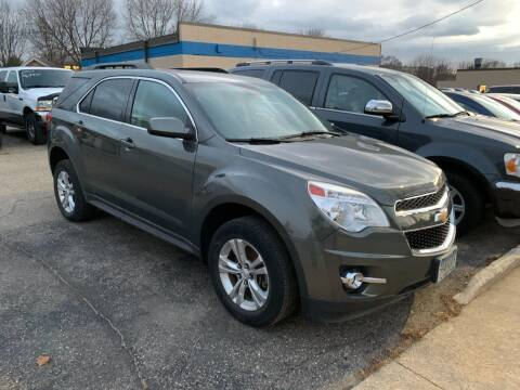 2013 Chevrolet Equinox for sale at BEAR CREEK AUTO SALES in Rochester MN