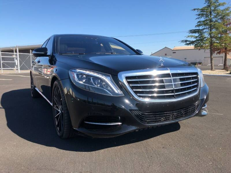 2015 Mercedes-Benz S-Class for sale at Approved Autos in Sacramento CA