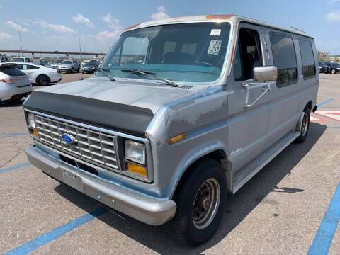 1989 Ford E-150 for sale at Shift Automotive in Denver CO