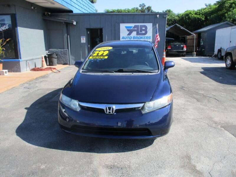 2008 Honda Civic for sale at AUTO BROKERS OF ORLANDO in Orlando FL