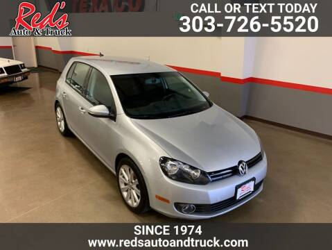 2013 Volkswagen Golf for sale at Red's Auto and Truck in Longmont CO