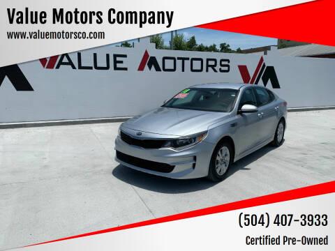 2018 Kia Optima for sale at Value Motors Company in Marrero LA