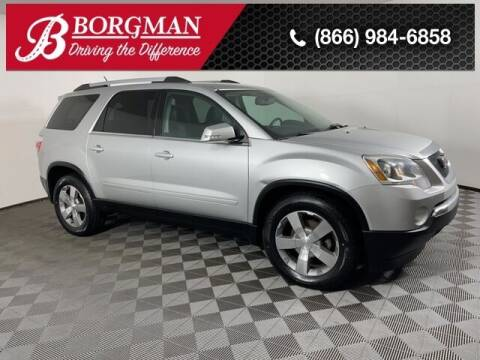 2011 GMC Acadia for sale at BORGMAN OF HOLLAND LLC in Holland MI